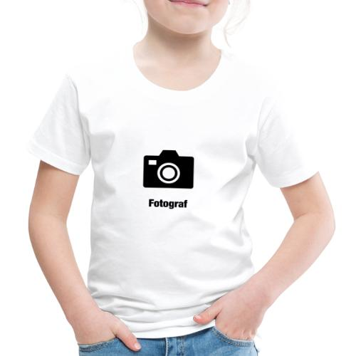 Fotograf - Kinder Premium T-Shirt