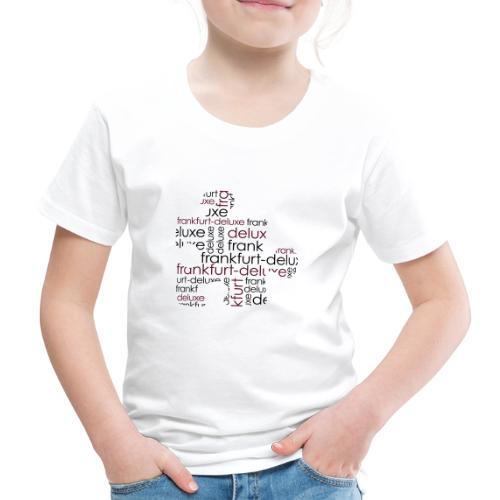 Frankfurt Deluxe Puzzle Motiv - Kinder Premium T-Shirt