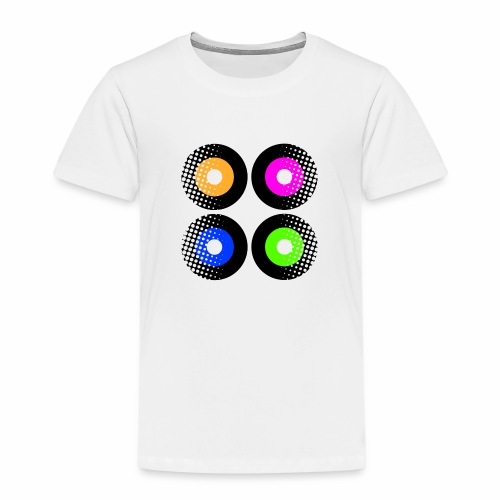 Schallplatten Inspiration - Kinder Premium T-Shirt