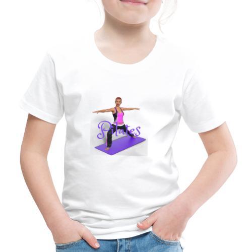 Pilates - Kinder Premium T-Shirt