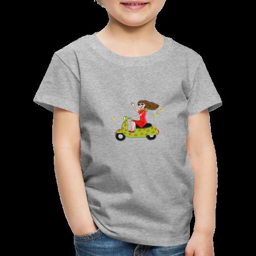 Mit dem Moped in den Sommer - Kinder Premium T-Shirt