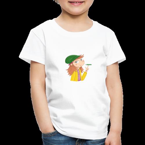Ich bin eine Illustratorin - Kinder Premium T-Shirt
