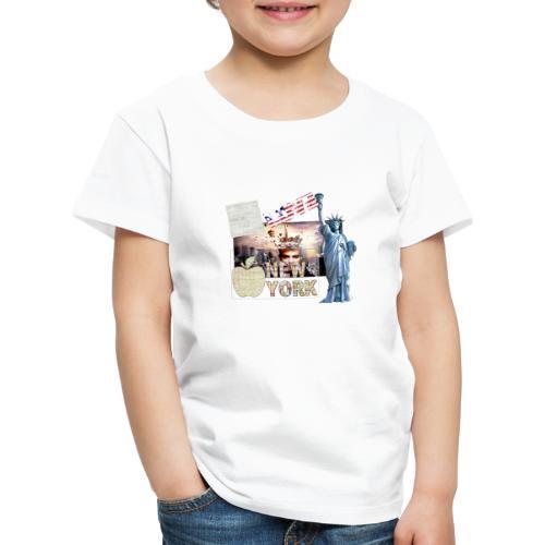 Love New York - Kinder Premium T-Shirt