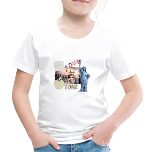 Love New York - Kinder Premium T-Shirt