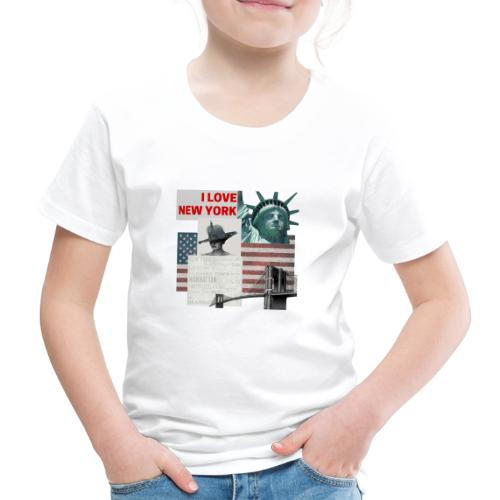 I love New York - Kinder Premium T-Shirt