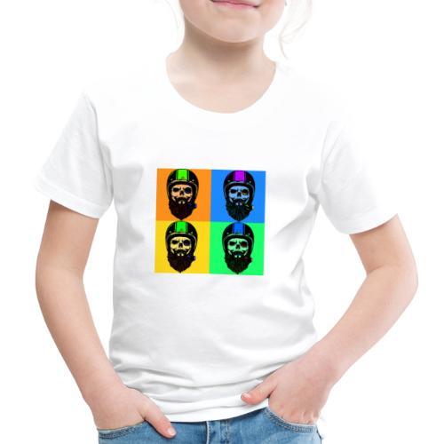 Rauchende Rocker leben kurz und wild - Kinder Premium T-Shirt