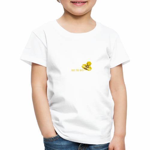 SAVE THE BEES - Kinder Premium T-Shirt