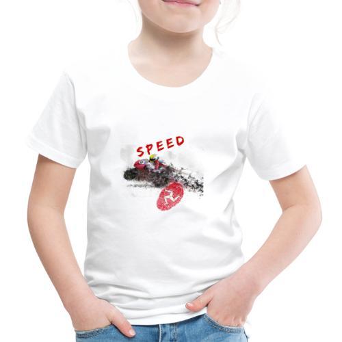 Speed - Isle of Man - Kinder Premium T-Shirt