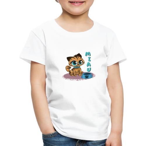 Miau - Kinder Premium T-Shirt