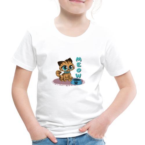 Meow - Kinder Premium T-Shirt