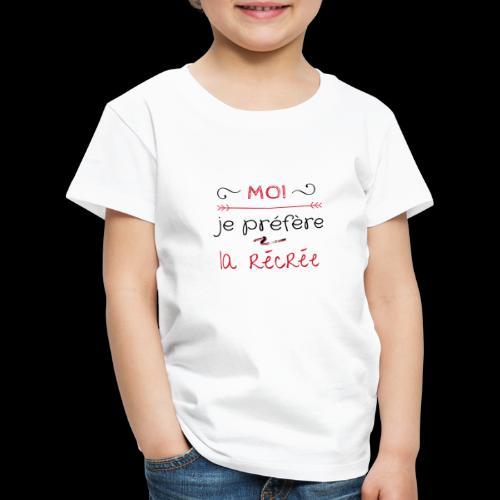 Tee-shirt rentrée des classes - T-shirt Premium Enfant