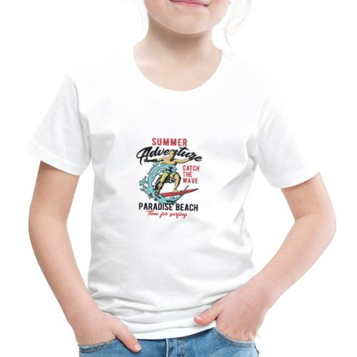 Time for Surfing - Kinder Premium T-Shirt