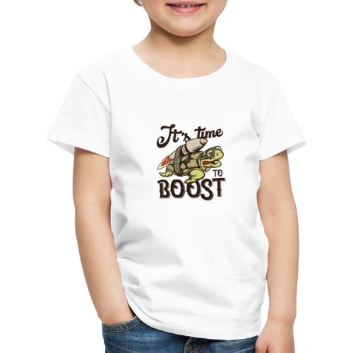 Time to boost - Kinder Premium T-Shirt