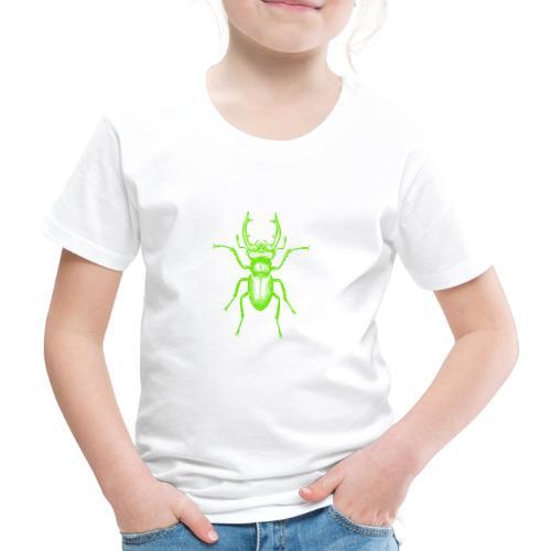 Grüner Hirschkäfer - Kinder Premium T-Shirt