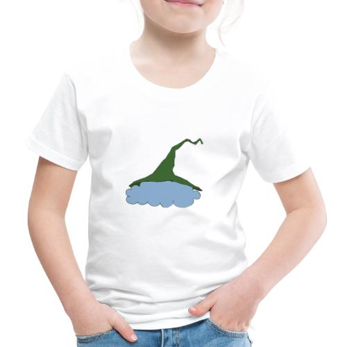 Green Witch hat at Cloud - Kinder Premium T-Shirt