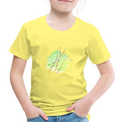 Weidenkätzchen - Kinder Premium T-Shirt