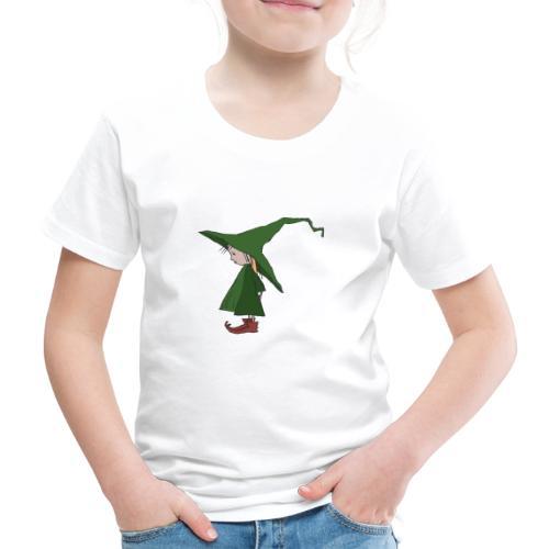 Green Witch Standing - Kinder Premium T-Shirt