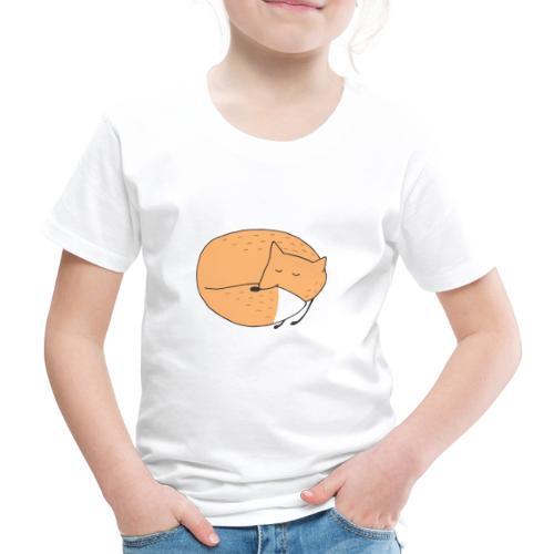 Schlafender Fuchs - Kinder Premium T-Shirt