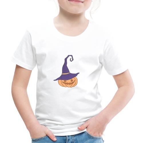 pumkin halloween lilac - Kinder Premium T-Shirt