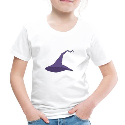witch hat lila - Kinder Premium T-Shirt