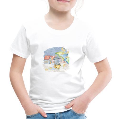cute rabbit fall - Kinder Premium T-Shirt