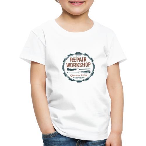 Repair Workshop - Kinder Premium T-Shirt