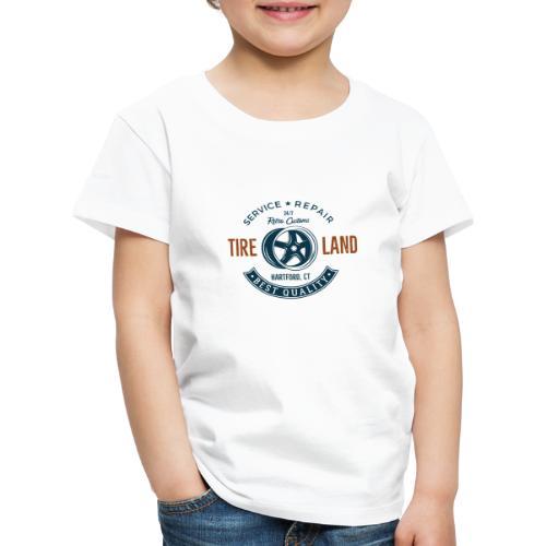 Tire Land - Kinder Premium T-Shirt