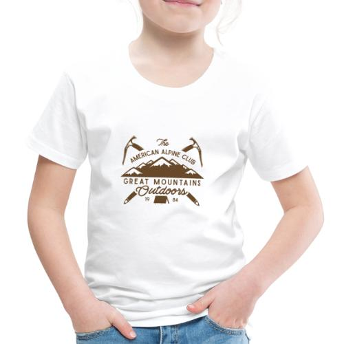 American Alpine Club - Kinder Premium T-Shirt