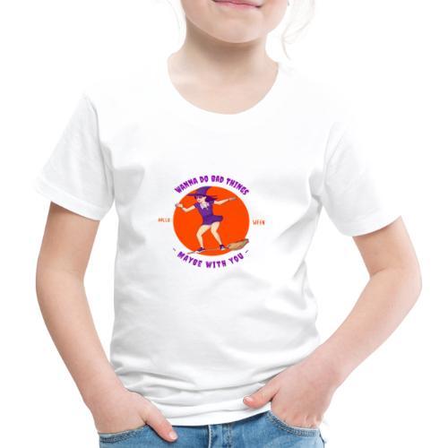Halloween Witch - Kinder Premium T-Shirt