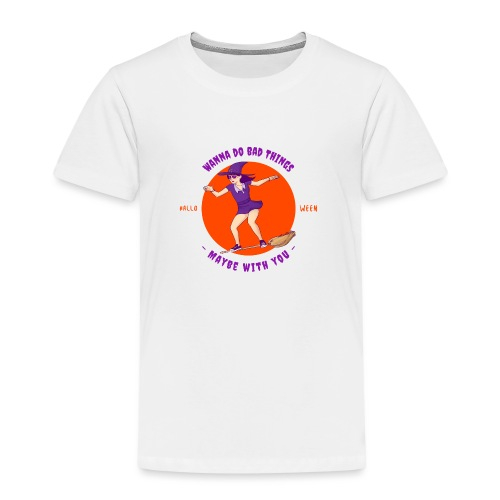 Halloween Witch - Kinder Premium T-Shirt