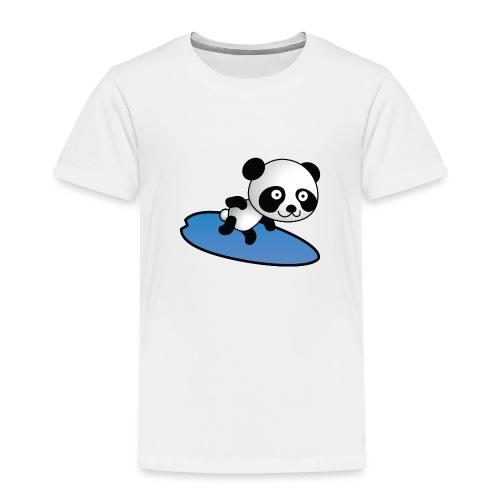 Surfing Panda - Kinder Premium T-Shirt