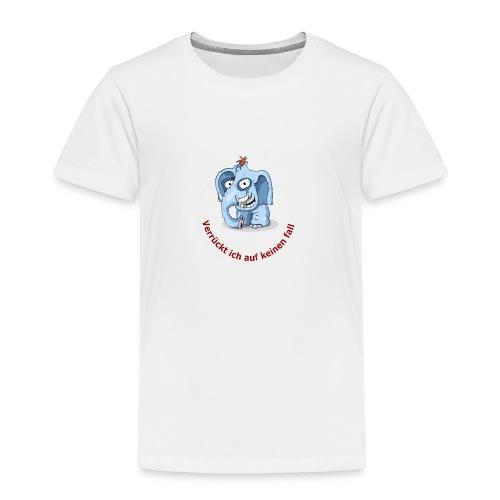 verrueckter elefand - Kinder Premium T-Shirt