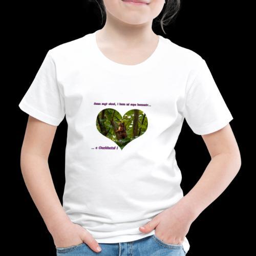 Oachkatzl rosa - Kinder Premium T-Shirt