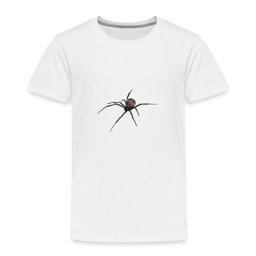 Spinne - Schwarze Witwe - Aquarell Zeichnung - Kinder Premium T-Shirt