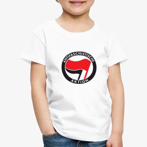 Atnifaschistische Action - Antifa Logo - Kids' Premium T-Shirt