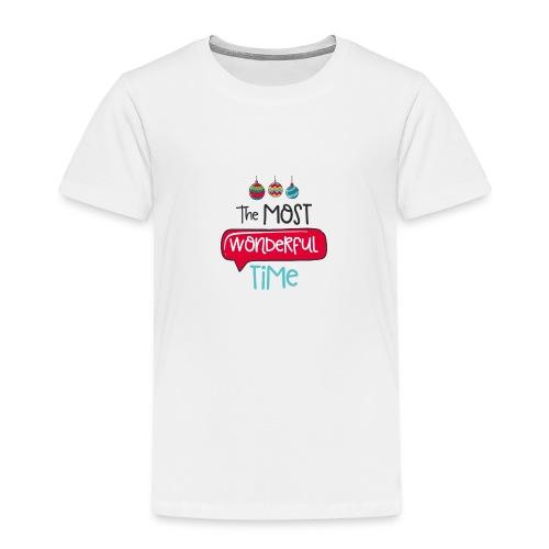 the most wonderful time - T-shirt Premium Enfant