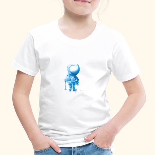 Unser Sandmännchen von hinten blau - Kinder Premium T-Shirt