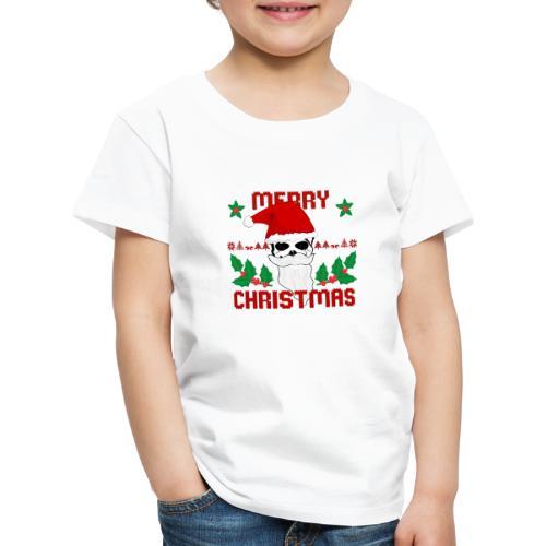Merry Christmas Skull - Kinder Premium T-Shirt