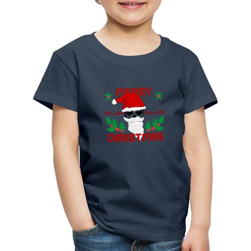 Merry Christmas Skull - Kinder Premium T-Shirt