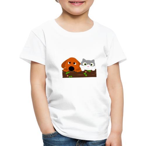 Hund & Katz - Kinder Premium T-Shirt