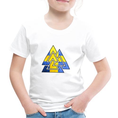 Sweden - Premium-T-shirt barn