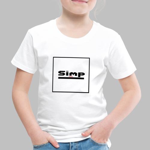 Standard Simp Logo Design - Kinderen Premium T-shirt
