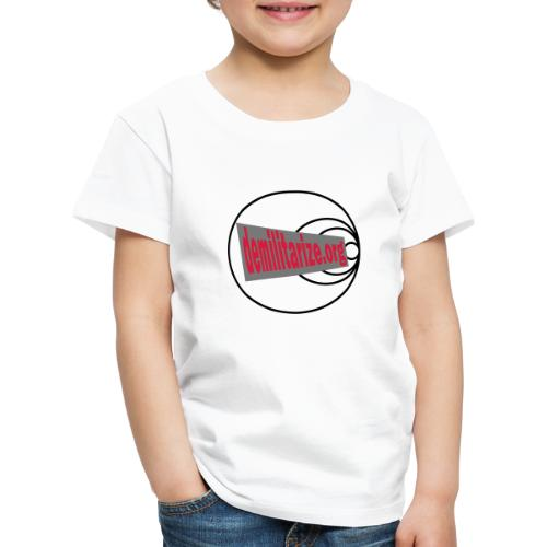 demilitarize org final 1st edition - Kids' Premium T-Shirt