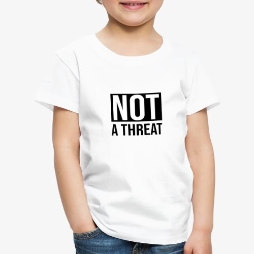 Black Lives Matter - Not a Threat - Kids' Premium T-Shirt