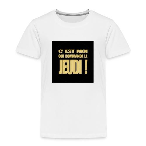 badgejeudi - T-shirt Premium Enfant