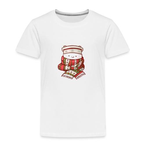 Christmas coffee cup - Kids' Premium T-Shirt