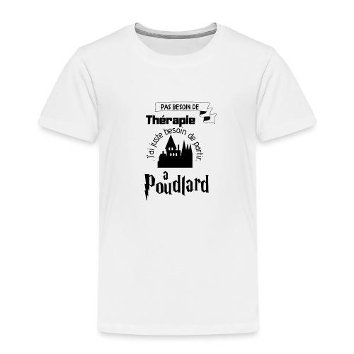 Poudlard - T-shirt Premium Enfant