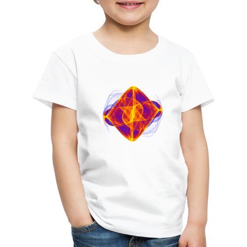 Aquarell Kunstgrafik Gemälde Bild Chaos 6769bry - Kinder Premium T-Shirt