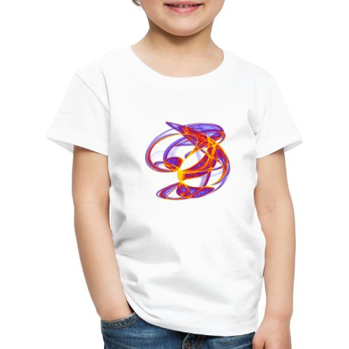 Play of colors of the Clifford-Bahnen watercolor 7839bry - Kids' Premium T-Shirt
