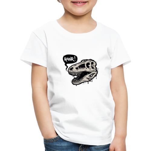 DINO RAWR 1 - Camiseta premium niño